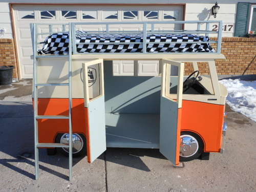 vw camper bunk bed plans
